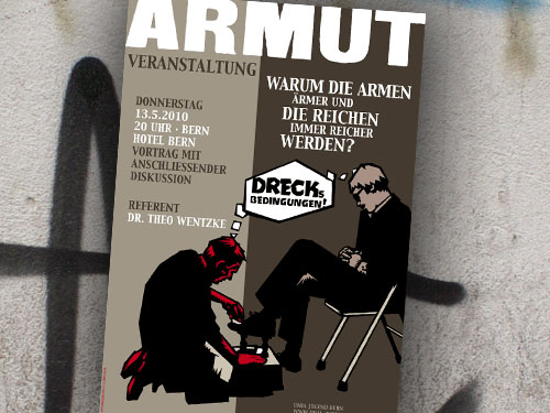 Armut | Unia Jugend | Poster